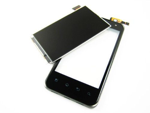 For Lg Optimus 2X P990 ~ Lcd Display+Black Touch Screen Digitizer ~ Mobile Phone Repair Part Replacement