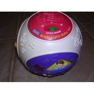 Toy / Game Fantastic Vtech Little Smart Bright Lights Baby Ball with Super Ultra Sounds And Light Up for Kids - 1