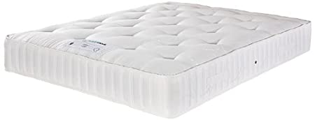 HEALTH BEDS  OPTIONS 1500 WITH HYPO-ALLERGENIC FILLINGS 4 ft 6 Double Mattress