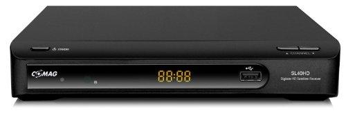 Comag SL 40 HD HDTV Satelliten Receiver (USB 2.0 für externe Festplatte oder USB-Stick, Scart, HDMI) schwarz