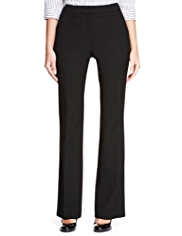 M&S Collection 2-Way Stretch Side Pockets Bootleg Trousers