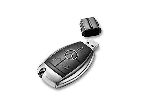 Mercedes Benz Key Style 4G Usb Flash Drive, Genuine Mb Product