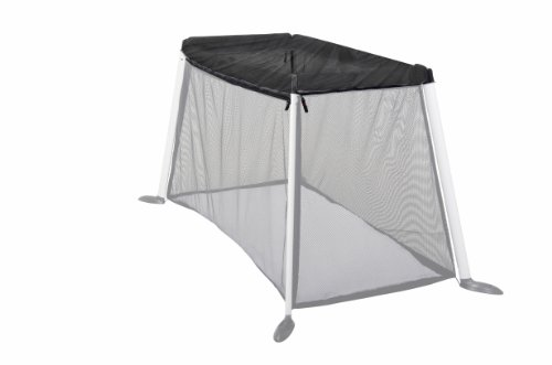 phil&teds Slim Shade UV Mesh Top for Traveler, Black