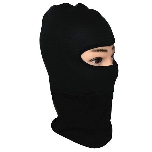 Power Gear Motorsports New Full Face Motorcycle Snowmobile Snowboard Ski Balaclava Face Mask Black