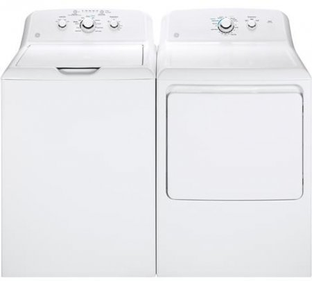 ge-white-laundry-pair-with-gtw330askww-27-top-load-washer-and-gtx33gaskww-27-front-load-gas-dryer