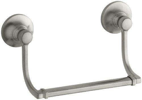 KOHLER K-11416-BN Bancroft Hand Towel Holder, Vibrant Brushed Nickel