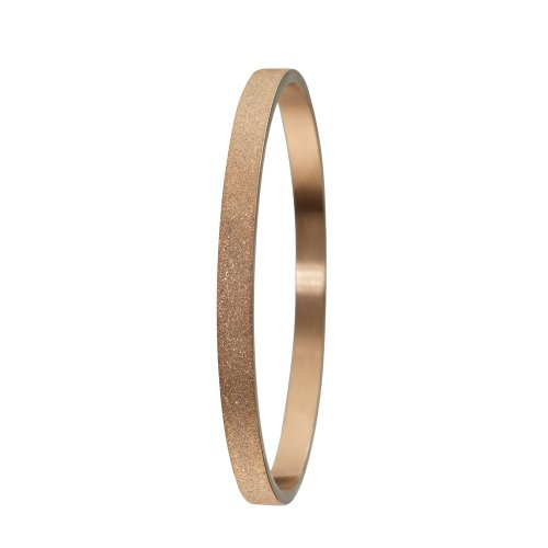 Skagen Designs Rose Gold Tone Glitter Stainless Steel Bangle JGSR002SM