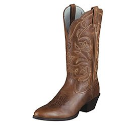 Ariat® Women's Heritage Western Round Toe Performance Boot - Russet Rebel