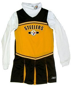 Pittsburgh Steelers Infant Cheerleader Outfit - Buy Pittsburgh Steelers Infant Cheerleader Outfit - Purchase Pittsburgh Steelers Infant Cheerleader Outfit (Reebok, Reebok Dresses, Reebok Girls Dresses, Apparel, Departments, Kids & Baby, Girls, Dresses, Girls Dresses, Jumpers, Girls Jumpers, Jumper Dresses, Girls Jumper Dresses)