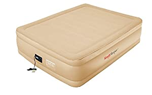 (2014 NEW ARRIVAL) SimplySleeper SS-G81Q Queen Air Bed with Flock Top and Powerful... by SimplySleeper