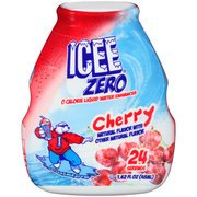 ICEE Zero, Liquid Water Enhancer, Cherry Flavor, 1.62oz Bottle (Pack of 4) (Cherry Icee compare prices)