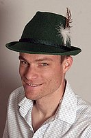 Oktoberfest Costume Hat (Green Felt Small) from European Heritage Gifts