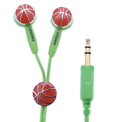 Ipopperz Ip-Spz-2006 A Slam Dunk Basketball Ear Bud