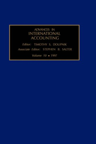 Advances in International Accounting, Volume 10