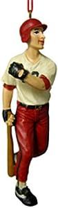 Male Baseball Player Ornaments [48600A]