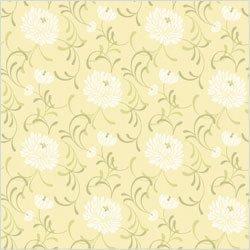 Crown Linen Floral Wallpaper