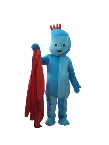 New Iggle Piggle Mascot Costume in the Night Garden Cartoon Costumes