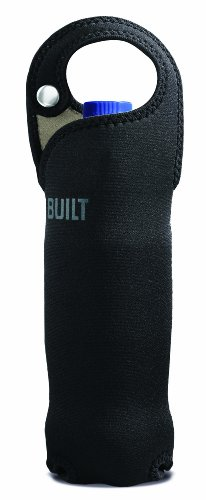 Built Neoprene 20-Ounce Capacity Bottle Tote, Black