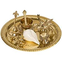 Govardhan International_Brass Pooja Thali Set