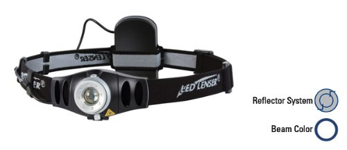 Coast Led Lenser 7495 Focusing Led Headlamp H5