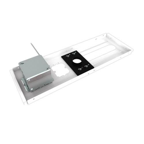 Chief Cms440N Suspended Ceiling Kit With Power Outlet Housing, 50 Lbs Load Capacity