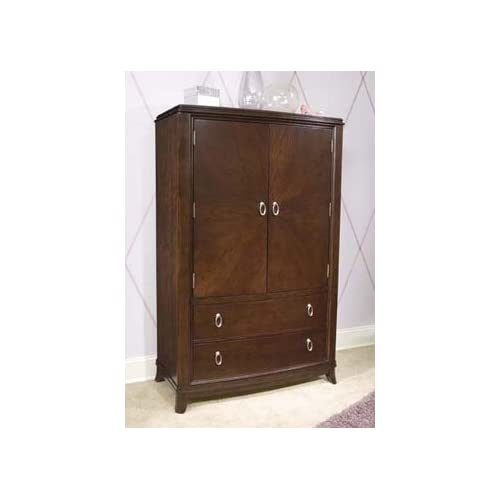 Glamour girl armoire media unit by legacy for Bedroom furniture amazon