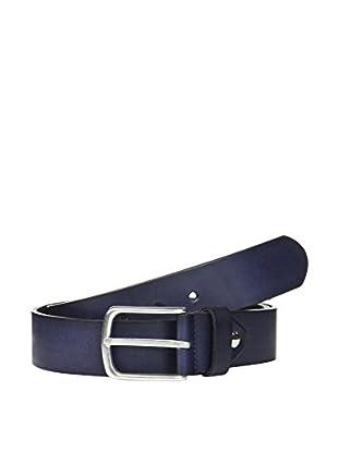 Men's Heritage Cinturón Piel B (Azul Marino)