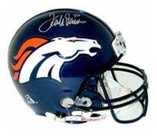 Terrell Davis Autographed Hand Signed Denver Broncos Pro Line NFL Helmet by Riddell by Hall of Fame Memorabilia