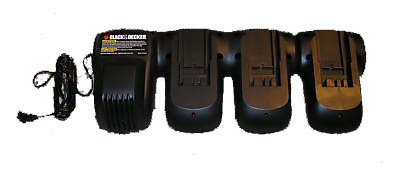 Black & Decker RE18V3PRT 18 Volt NiCad 3-Port Battery Charger