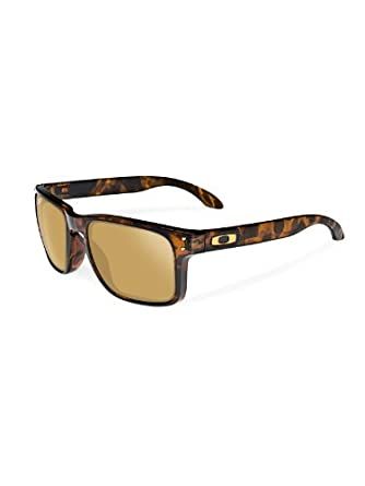 Oakley Shaun White Signature Series Holbrook Brown Tortoise/24K Mens Sunglasses