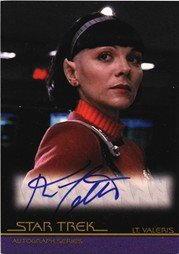 Quotable Star Trek Movies Autograph Card A59 Kim Cattrall