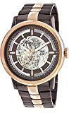 Kenneth Cole New York Two-tone IP Bracelet Skeleton Dial Men's watch #KC9031