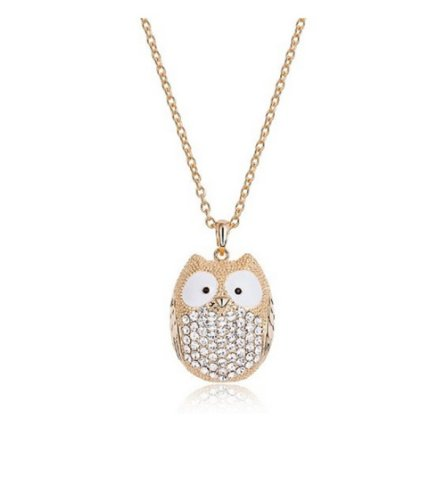 18K-Yellow-gold-plated-cute-owl-Animal-pendant-necklaceValentines-Day-gift-NGG127