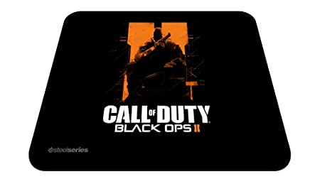 SteelSeries Call Of Duty Black Ops II QcK Gaming Mouse Pad - Orange Soldier Edition