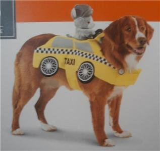 Pet Costume - Taxi Driver (Large)