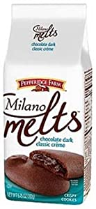 Pepperidge Farm Chocolate Dark Classic Cr?me Milano Melts, 5.75-ounce bag