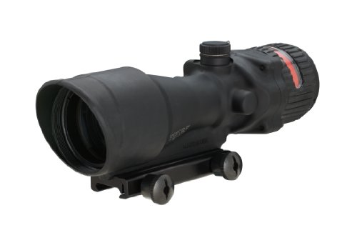 Acog 6 X 48 Scope Dual Illuminated Chevron .308 Ballistic Reticle, Red