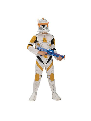 Star Wars Clone Wars Clone Trooper Child's Commander Cody Costume
