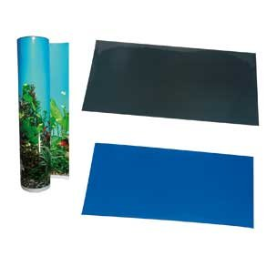 AQUARIUM DEKORATION RÜCKWAND BLUE/BLACK 49CM ROLLE