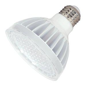 Satco 08943 - 14Par30Sn/Led/60'/5000K/Wh S8943 Par30 Flood Led Light Bulb