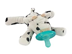 WubbaNub Limited Edition Infant Pacifier, Cow
