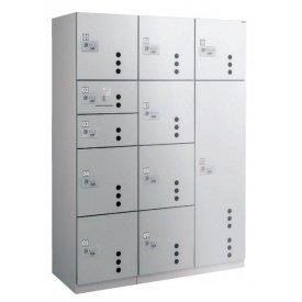 ダイケン 宅配ボックス ダイヤル錠タイプ TBX-CC4型 Lユニット(前入前出し、ステンレス扉)