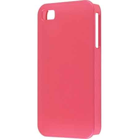 Wireless Solutions New Salmon Pink Color Click Case For Apple Iphone 4 Verizon
