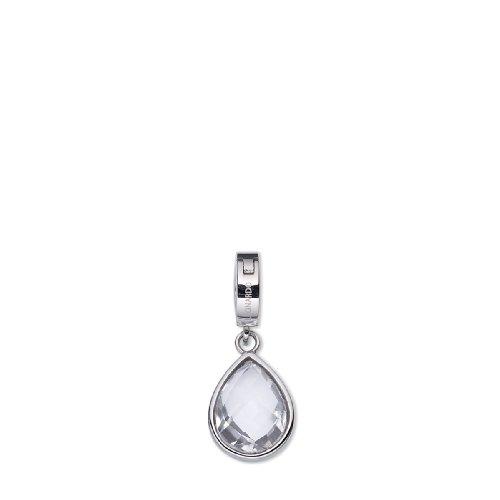 Leonardo Jewels Damen-Anhänger Edelstahl + Glas Dew Darlins 011605