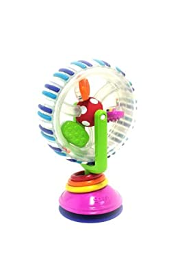 Sassy Developmental Wonder Wheel Suction Toy from Sassy