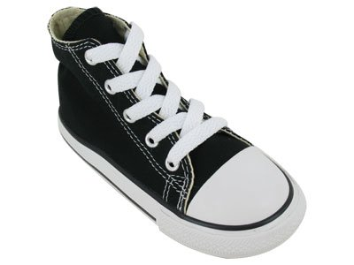 Converse Infants's CONVERSE CT A/S HI BASKETBALL SHOES 5 (BLACK)