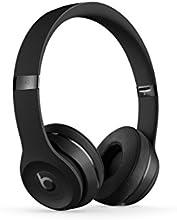 Comprar Apple Beats Solo3 - Auriculares (binaurale, 3.5 mm / USB, Bluetooth, supraaural), color negro