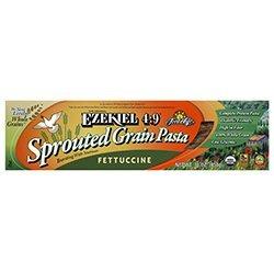 Food For Life Baking Co. Organic Ezekiel 4:9 Fettuccini Pasta 16 oz. (Pack of 6)