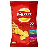 Walkers Classic Variety Crisps 22 X 25G