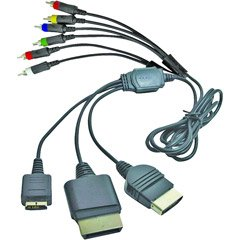 Mad Catz MAD CATZ COMPONENT CABLE (Video Game / Universal)